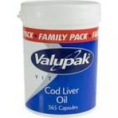 valupak cod liver oil